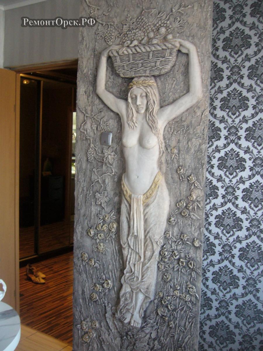 барельеф скульптура