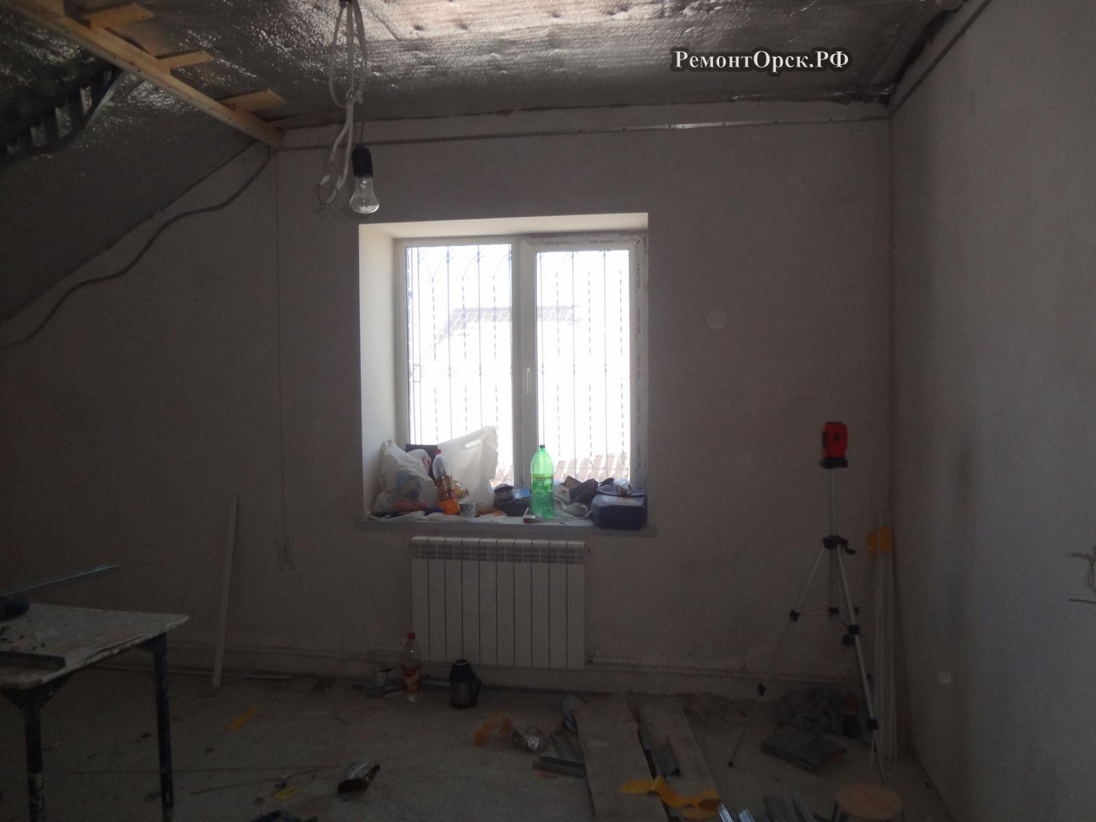 ремонт дома коттеджа дачи в Орске
