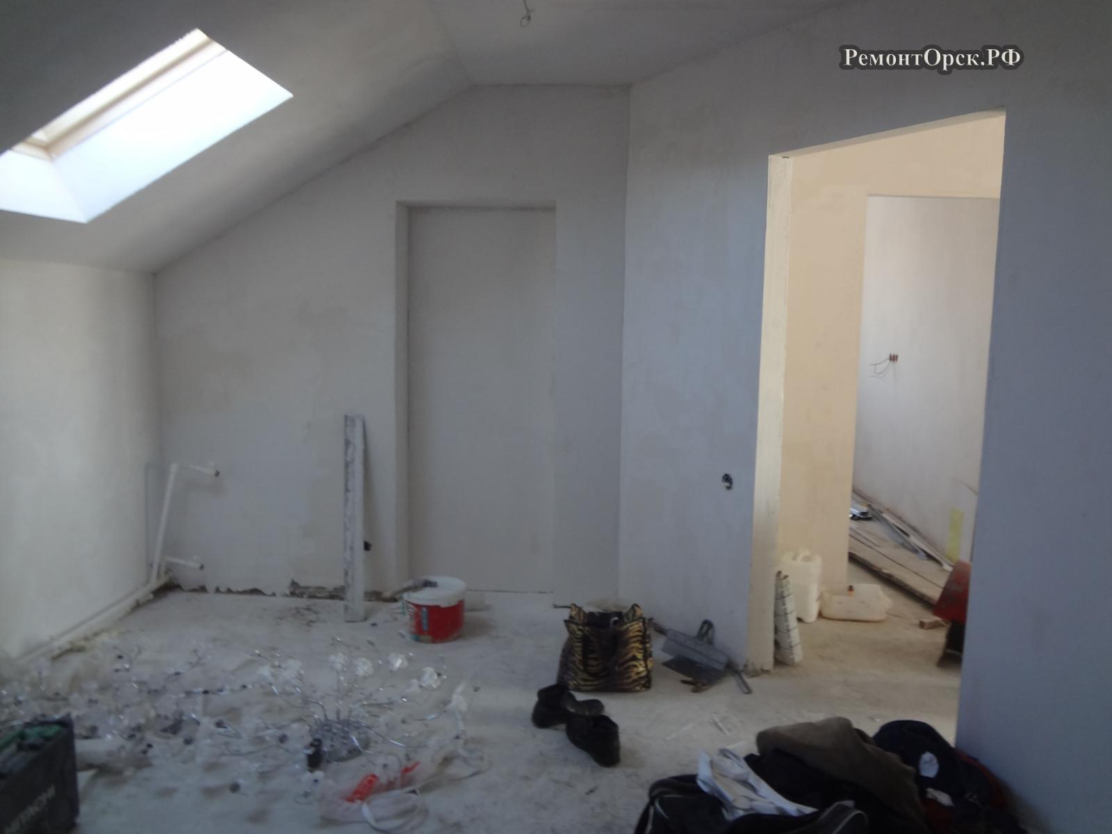 ремонт домов коттеджей