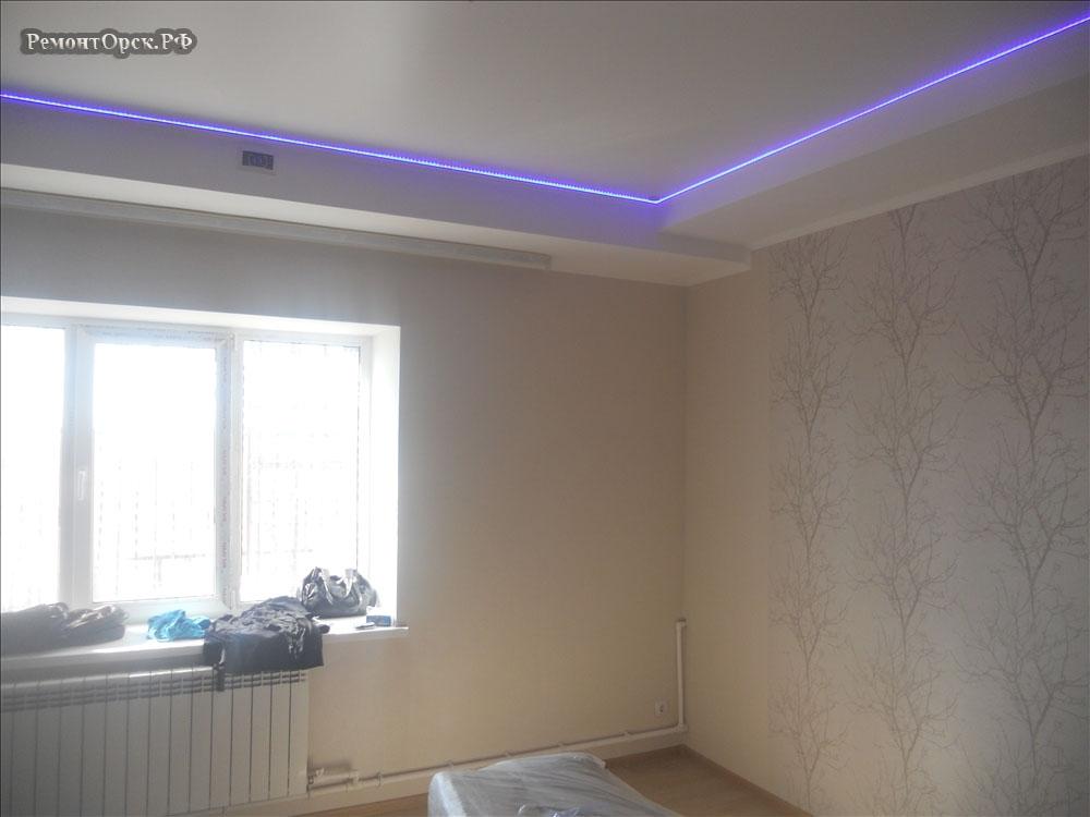 ремонт спальни в доме