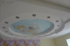 красивый потолок в доме