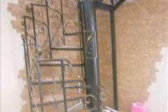 ремонт винтовая лестница в доме