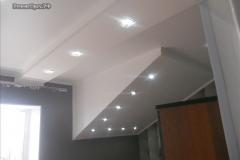 подсветка на потолке в доме