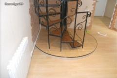 лестница винтовая в доме