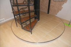 монтаж лестницы в доме