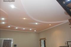 ГКЛ 3х уровневый потолок в доме