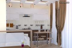 кухня в доме фото дизайн