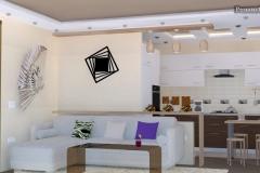 кухня гостиная дизайн интерьер фото