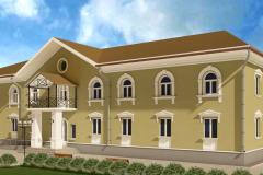 фасад школы чертеж Новотроицк