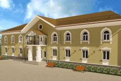 фасад школы искусств Новотроицк
