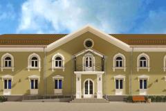 фасад школы дизайн