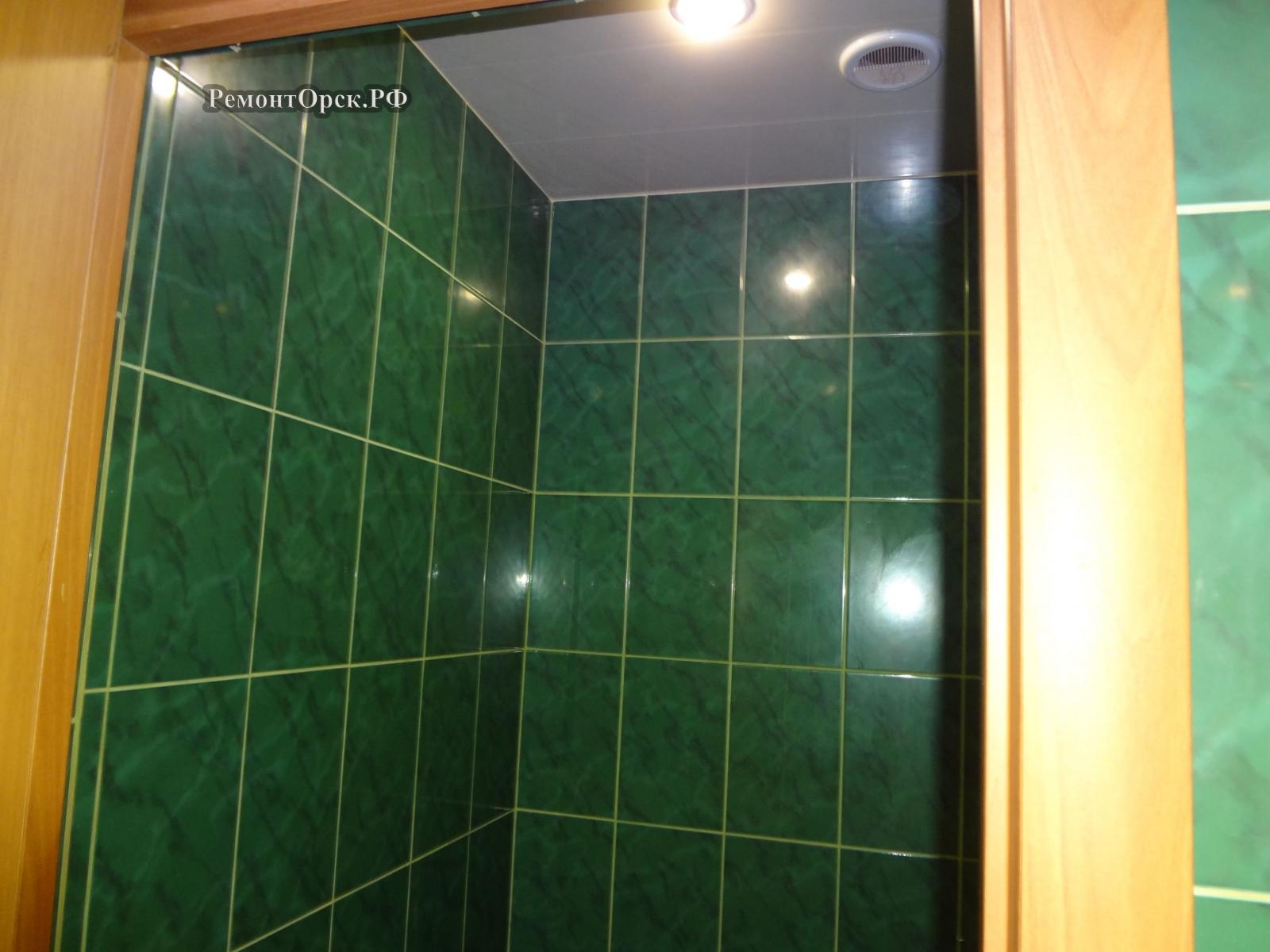 ремонт ванной и туалета в своем доме