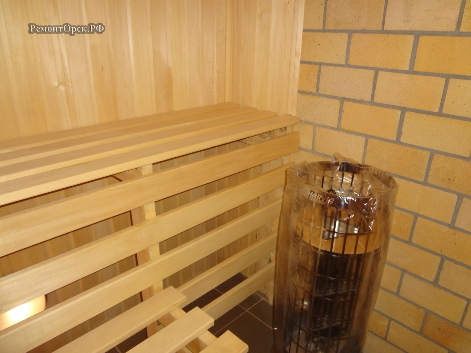 отделка бани внутри орск