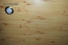 деревянная вагонка потолок