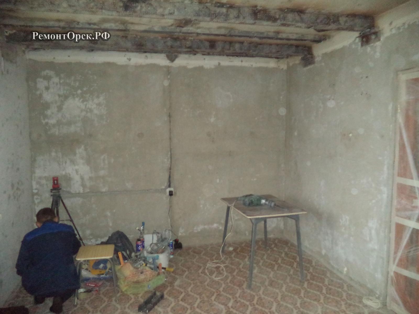 ремонт комнаты под ключ в квартире
