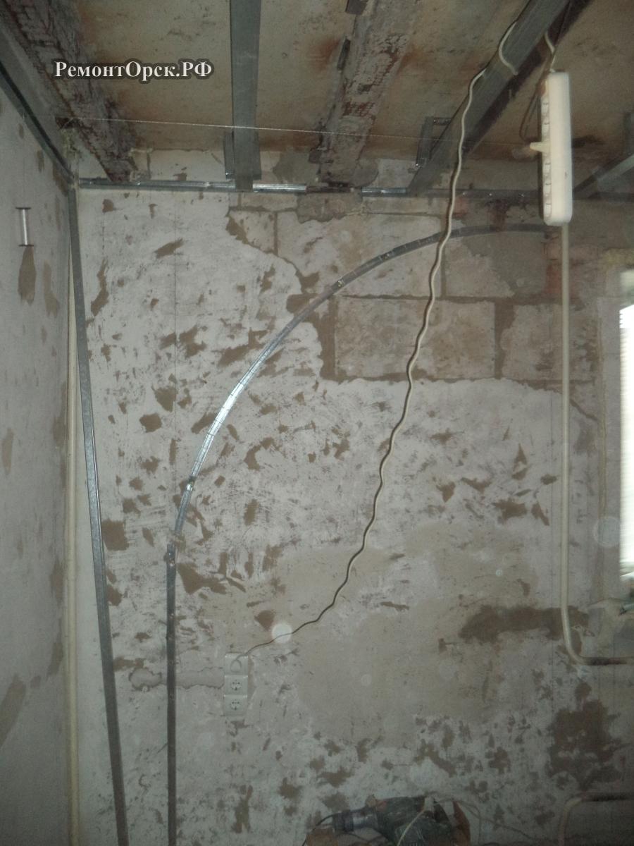 сборка арки в комнате