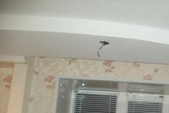 сборка 2х уровнего потолка в комнате