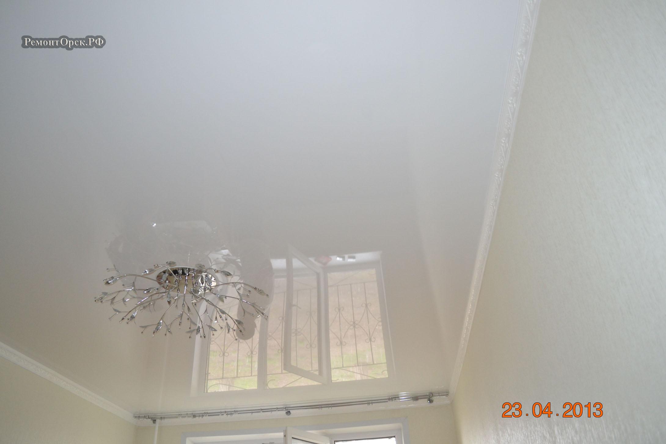 монтаж натяжной потолок