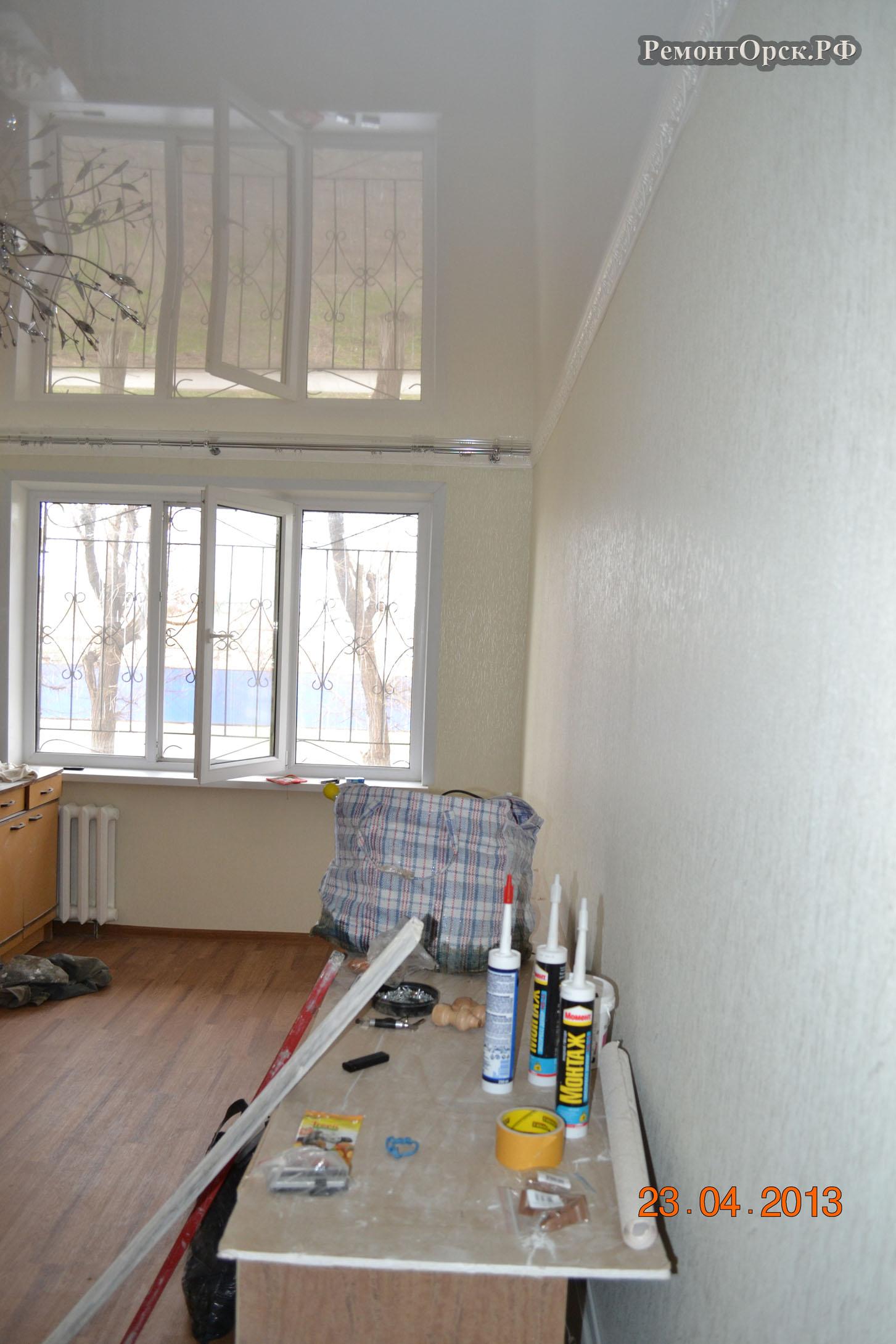 ремонт квартиры одно комнатной в орске
