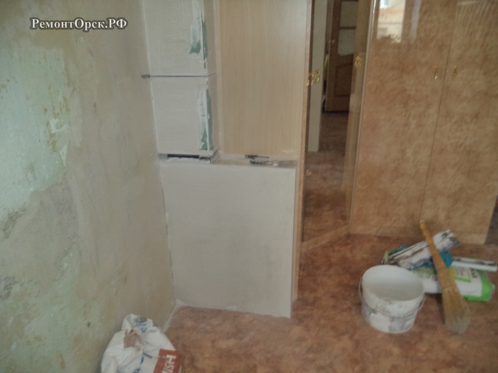 красивый ремонт в спальне в квартире