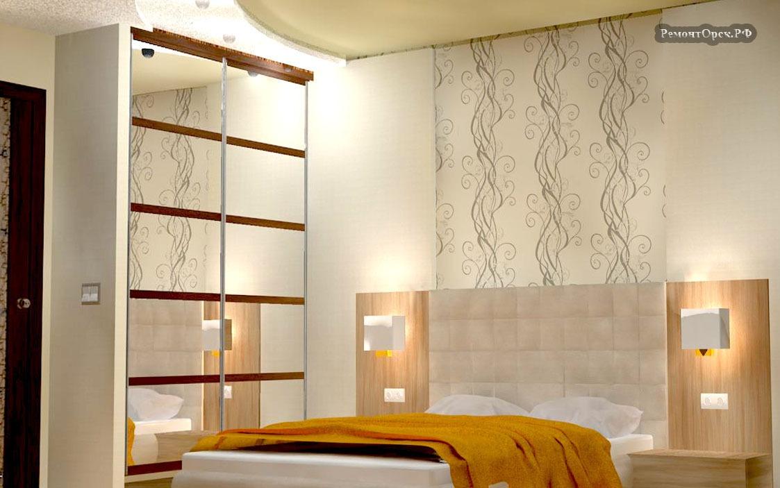 интерьера спальни комнаты