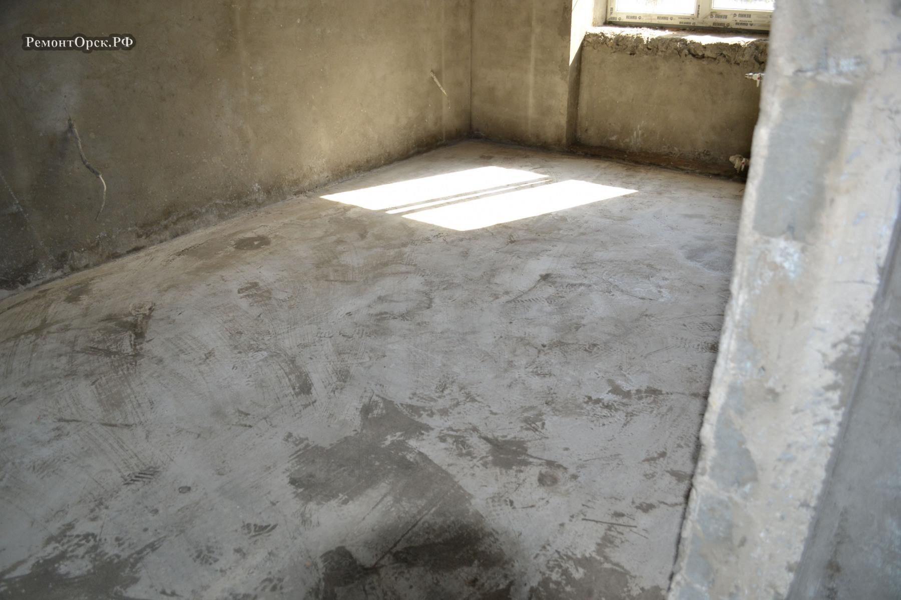 бетонные полы в квартире