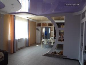 Ремонт гостинной в доме