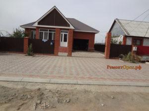 Строительство дома тротуарная плитка