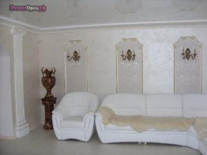 Декоративна отделка в доме, покраска