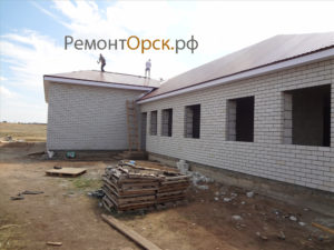 Строительство административного здания проходная п. Кувандык