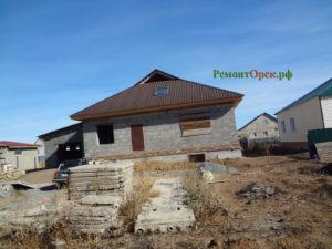 Строительство дома г. Гай