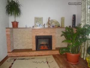 Ремонт отделка камина, в доме